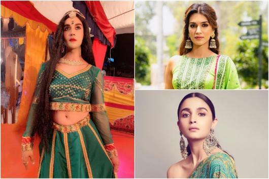 Rajkummar Rao Cross-dresses for Ludo, Fans Confuse Him for Alia Bhatt, Kriti Sanon