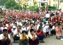 India silent as Myanmar cracks down on monks