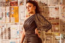 Amruta Khanvilkar Glitters in Black and Gold in Latest Instagram Photo