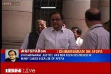 Kiren Rijiju hits out at Chidambaram for calling AFSPA an 'obnoxious law'