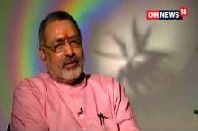 Not the Only Face in Bihar: Giriraj Singh