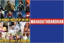 Samajwadi Party & Press Information Bureau Share Avengers Endgame Themed Posts