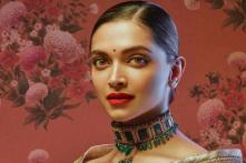 Deepika Padukone Looks Divine As She Turns Muse For Sabyasachi, See Pics