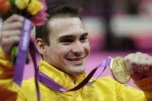 Brazil's Zanetti takes gold in  gymnastics