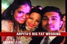 e Lounge: Arpita Khan's big fat wedding