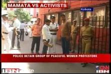 Kolkata: Women protesters detained near Mamata's residence