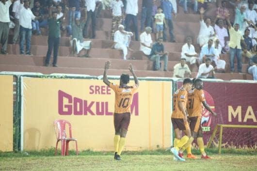 Gokulam Kerala FC (Photo Credit: AIFF)