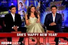 e Lounge Unwind: Shahrukh Khan, Deepika Padukone, Vivaan Shah talk about 'Happy New Year'