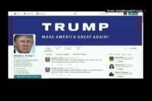 Singer Josh Groban sings Donald Trump's tweets