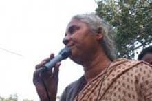 Patkar, activists protest against decision to raise Sardar Sarovar dam height