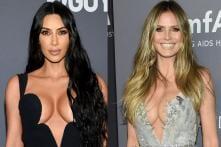 Kim Kardashian, Heidi Klum Stun in Plunging Necklines at amfAR Gala