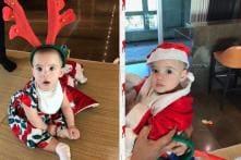 Karan Johar's Twins Yash and Roohi Wish Fans Merry Christmas