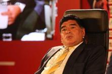 Diego Maradona baptised in the same river as Jesus Christ?