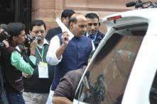 Rajnath Singh briefs Prime Minister on Haryana situation, JNU row