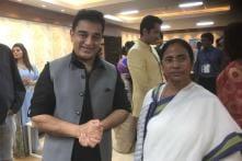 Kamal Haasan Meets Mamata Banerjee, Says he is a Big Fan