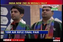 India's golden day at CWG