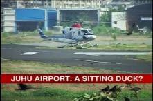 Security loopholes at Juhu airport despite threat