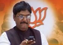 Munde back in BJP fold, party sacks his rival