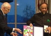 Al Gore, IPCC awarded Nobel Peace Prize