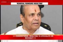 Rumours about governors' resignation an insult: K Sankaranarayanan
