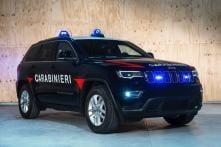 Jeep Grand Cherokee Joins Anti-Terrorism Unit of Italian Carabinieri
