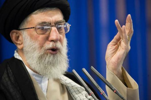 File photo of Iran's Supreme Leader Ayatollah Ali Khamenei.
