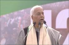 Modi is Not the Mudda: Yashwant Sinha Pre-Empts BJP Attack at Oppn's Kolkata Rally