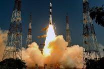 PICS: ISRO Launches EMISAT & 28 Nano Satellites By PSLV-C45