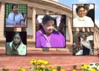 Does Patil symbolises women power?