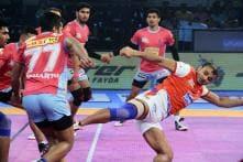 Pro Kabaddi 2017: Haryana Steelers Beat Jaipur Pink Panthers 30-26