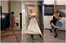 Russian Ballet Dancers Put a Pirouette on Household Chores amid Coronavirus Lockdown