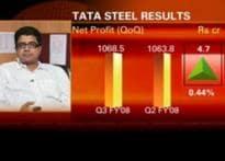 Tata Steel reports marginal rise in Q3