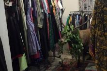 'Dazed and Confused': Stray Deer Gets Stuck Amid Clothes in Resort Shop