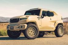 Singer Chris Brown Buys Rezvani Tank Military Edition Armored Bulletproof SUV Worth Rs 2 Crore [Video]