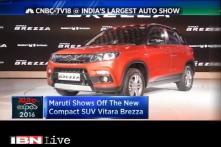 Maruti Suzuki unveils SUV Vitara Brezza at Auto Expo 2016