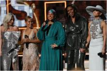 Grammy Awards 2019: Crowd Erupts in Cheers As Michelle Obama Makes a Surprise Appearance