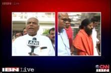 Yashwant Sinha criticises Ramdev for 'honeymoon' remark