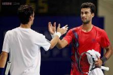 Fabio Fognini's retirement sends Yuki Bhambri to Chennai Open quarters