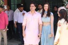 Arbaaz Khan Attends Sister Arpita's Ganesh Chaturthi Celebrations with New Girlfriend