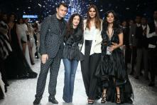 Vaani Kapoor Turns Muse for Gauri-Nainika, Ashish N Soni; Sets the Ramp on Fire Twice