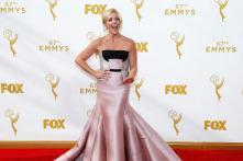 Emmy nominee flaunts India-born designer Bibhu Mohapatra's outfit