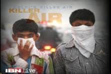 Slight dip in pollution level in Delhi on Thursday