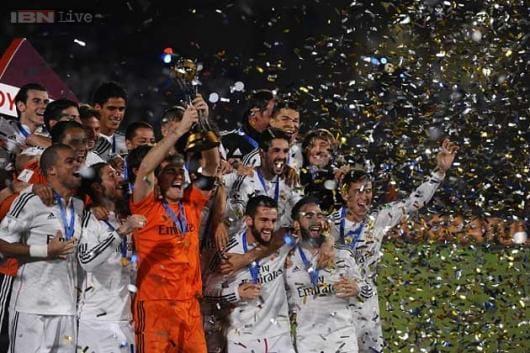 Real Madrid beat San Lorenzo to lift Club World Cup