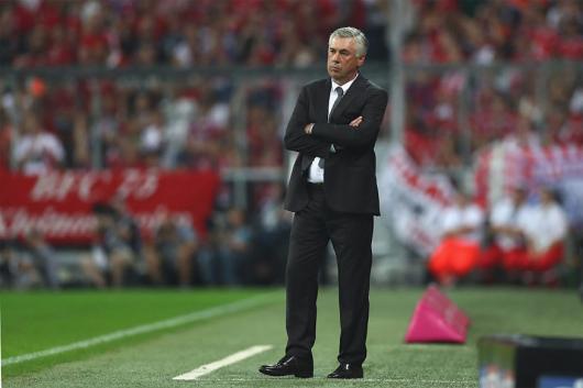 Carlo Ancelotti. (Getty Images)