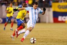 Argentina beat Ecuador 2-1 in friendly match