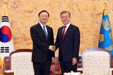China Envoy Tells Moon All Sides Must Advance Talks on Korean Peninsula