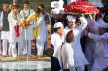 PICS: Rahul Gandhi Visits Temple & Dargah in Poll-Bound Rajasthan