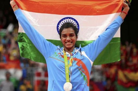 PV Sindhu won silver at the 2016 Rio Games. (Photo credit: Reuters)