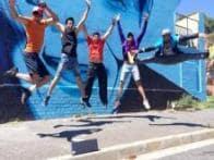 Stunts, sight seeing, fun: Kushal, Gauahar tweet pictures from the sets of 'Khatron Ke Khiladi'