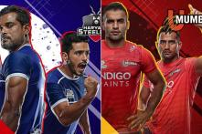 Pro Kabaddi League 2019 Playoffs Eliminator 2 Live Streaming: When and Where to Watch U Mumba vs Haryana Steelers Live Telecast Online